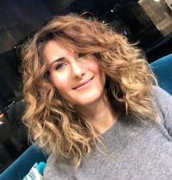 Curly Hair Styling & Hair Dressing - Hair Salon Client | Kaplan Atelier - Holland Park Avenue, London
