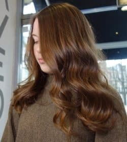 Beautiful Natural Hair Color - Hair Salon Client | Kaplan Atelier - Holland Park Avenue, London