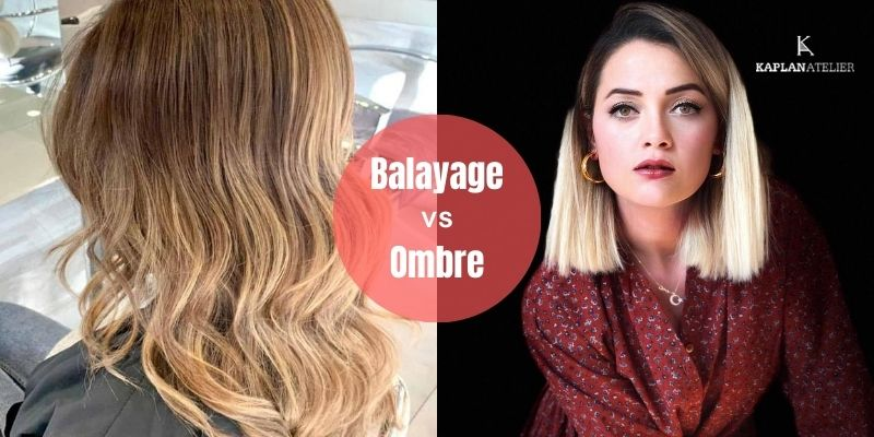 What is The Difference between Balayage & Ombre?