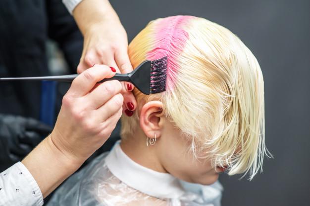 hair colouring - KAPLANatelier