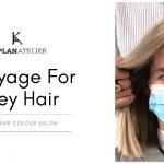 Balayage For Grey Hair: New Matching Balayage Style - KAPLANatelier AVEDA Salon, London