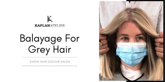 Balayage For Grey Hair: New Matching Balayage Style
