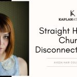 Straight Hair with Chunky Disconnected Bangs- KAPLANatelier, AVEDA Salon, London